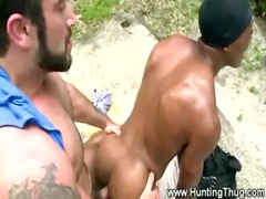 busty gay wishes black meat