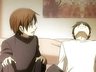 anime gay kissing n having awesome porn