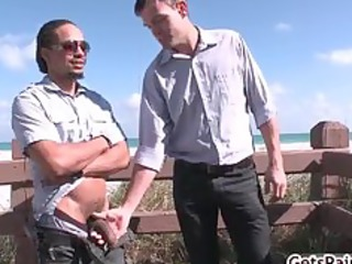 castro taking his heavy ebony dick sucked part5