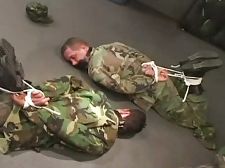 military gay studs obtaining bondaged and abusd