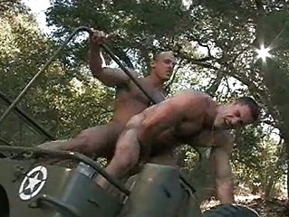 filthy military men having gay porn