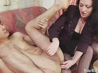 lick cock for me femdom gay fantasy
