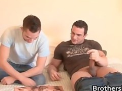 brothers awesome boyfriend gets dick sucked part1