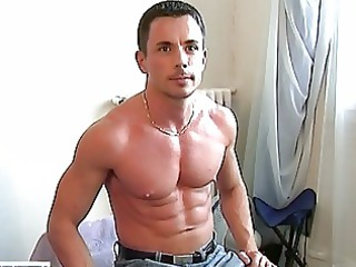 handsome gay hunk exposes hiss tig
