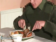 gay sex inside the military dining room part5