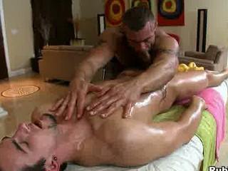 rub him - gay massage porn