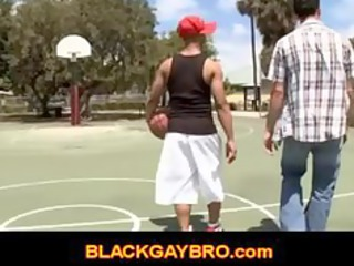 clean teenager meets black gay bro and obtains