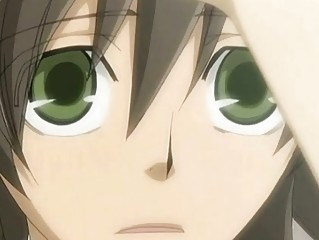 anime gay kissing and piercing his pretty fucker