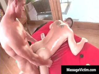 calvin obtains his uneasy penis rubbed hard gays