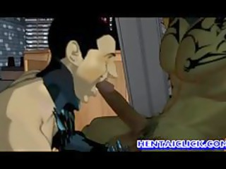 anime gays gangbanged group sex n cummed