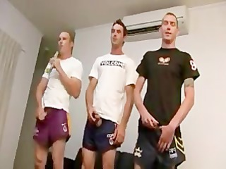 triple aussie straight guys michael, james, &