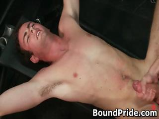 bound gagged and extreme beat gay part3