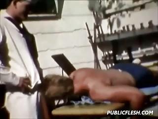 vintage gay otk spanking