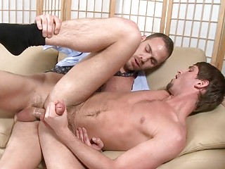 evening of gay libido enjoying