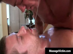 beautiful oily massage turns dirty for these gay