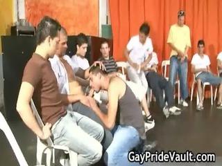 indoor gay gangbang fuck fest gay video