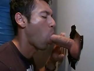 secret gay male gloryhole