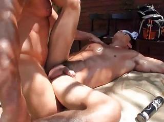gayroom oily massage