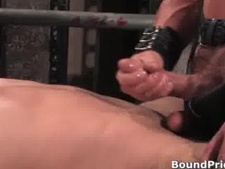 awesome extreme tough gay bondage part4