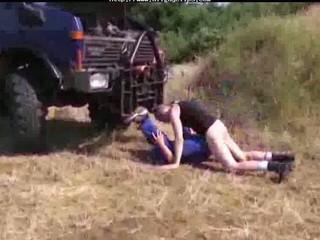 pierce on truck gay fuck gays gay sperm swallow
