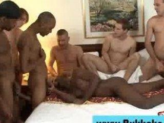 gay ebony stud bukkake fuck facial