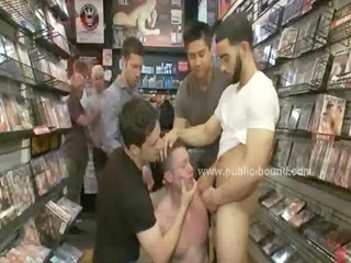 dirty gay guy into extreme bunch  porn
