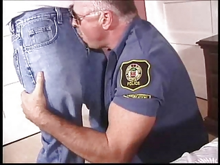 daddy gay cops gang bang a twink