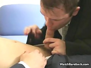 young gay office dick sucking