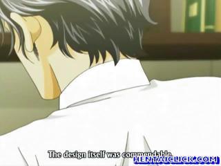anime gay deep banged his lover