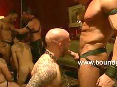 bunch fuck bondage gay gathering