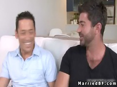 wedded guy acquires awesome gay blowjob gay video
