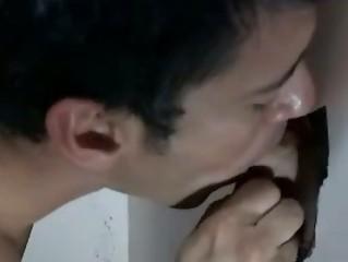 gay teenager secretly licks straight boy into