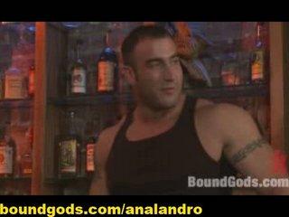 gay bdsm into a nightclub