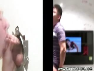 asian straight guy obtains head from gay