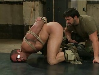 inflexible army gay fellow had bondaged and abused