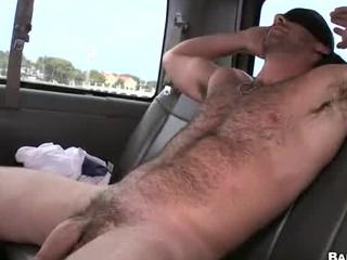 straight bear tricked inside gay bj