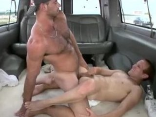 straight jock blows his filling in after gay porn