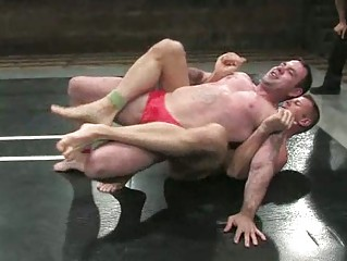 inflexible gay guys wrestling difficult and tight