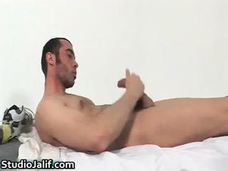 hunki edu marin pushing dildo his gay gay porno