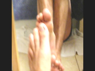 socks feet and sperm