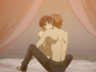 nude anime gay having his initial worship and porn