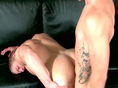 filthy gay celebrity hunk cums