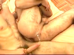 4 exposed seeded bulgarian hairy bottom gang bang
