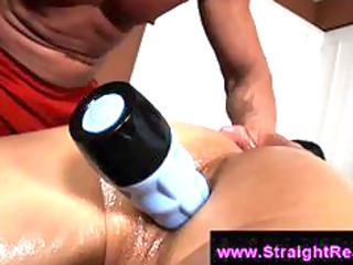 gay perv massages straight guy and butt fuck him