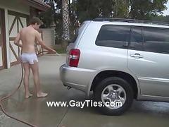 public nude car wash