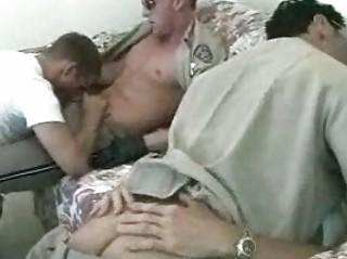 rooty gay cop inside fantastic three people gang