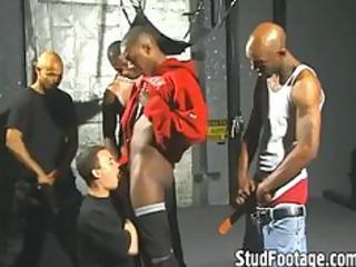 extremely impressive dark men destroys ashen ass