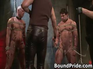 brenn and chad into extreme gay bondage gay porno