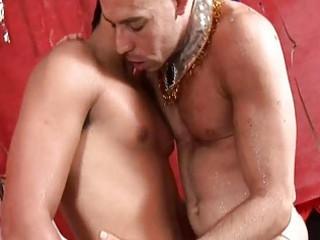 extremely impressive latino gay bareback sex