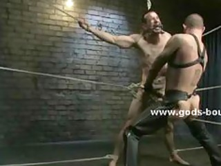 horny pervert gay inside leather clothes